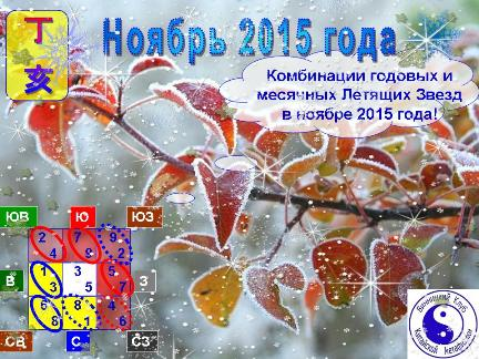 Фэн Шуй прогноз на  ноябрь 2015 года
